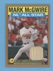 Mark Mcgwire 2021 Topps Series 2 Gold Parallel 1986 All Star Bat Relic /50