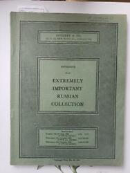 Russian Coins Extremely Important Soviet Government Collection Auction Catalog