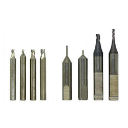 Raise Set Of 6 End Mill Cutters And 2 Tracers For Keyline 994/ninja/versa