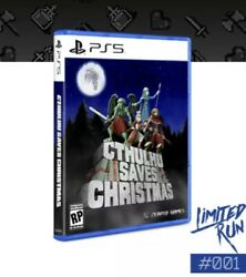 Cthulhu Saves Christmas Ps5 Limited Run Games Lrg 001 New Pre Order Playstation