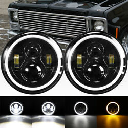 Auxbeam 7inch Projector Led Headlights Drl For Chevrolet C10 C20 Pickup K10 K20