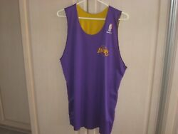 1989-90 Los Angeles Lakers Macgregor Sand-knit Practice Team Issued Jersey Rare
