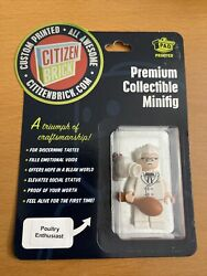 Poultry Enthusiast Citizen Brick Minifig Minifigure New Sold Out Colonel Sanders