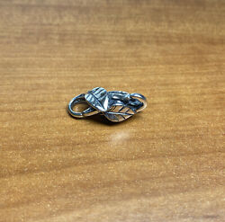 Authentic Trollbeads Silver Lock Of Leaves 🍁 Taglo-00064 Ship Free Usa