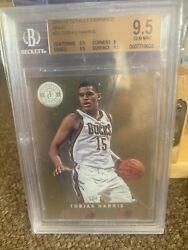 2012-13 Panini Totally Certified Tobias Harris Gold Rc 16/25 Bgs 9.5 Sixers🔥🔥
