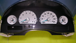 Rebuilt Speedometer Cluster Mph Fits 2003 Ford Thunderbird