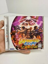 Dynamite Cop Sega Dreamcast 1999 Complete W Manual And Case Very Good Condition