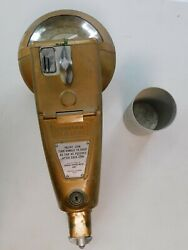 Working 1960's Duncan 1c 5c 10c 128 Parking Meter W/ Cup And Mount Bolt 18 Tall