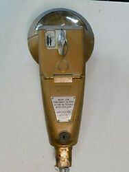 Non Working 1960's Duncan 1c 5c 10c 139 Parking Meter W/ Mounting Bolt 18 Tall