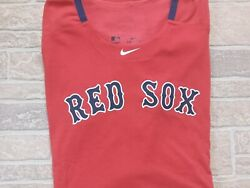 MLB Nike Boston Red Sox shirt jersey 3XL XXXL Authentic Collection DRI FIT