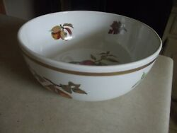 Royal Worcester Evesham Gold 10 Inch Round Serving Bowl 1 Available