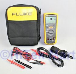 Fluke 1503 Insulation Resistance Meter/tester With Adapters And Soft Case