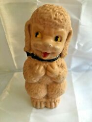 Vintage Irwin Large 8 Rubber Baby Lamb Dog Squeaker Toy - Works