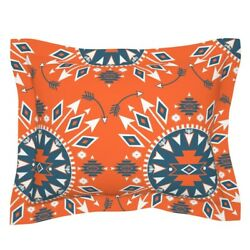 Arrows Navajo Native American Diamonds Geometric Trend Pillow Sham By Roostery