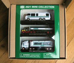 2021 Hess Truck Mini 3 Truck Collection - Limited Edition
