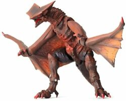 Sci-fi Revoltech 007 Gamera Monster Aerial Battle Gyaos Non-scale Abs And Pvc Pain