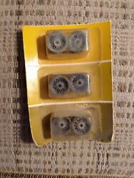 Cox 14012 1/24 Chaparral Mag Front Slot Car Wheels For Taper Axles Vintage-