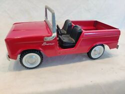 Vintage Nylint Red Ford Bronco Truck N-8200.nice Super Clean. Rare @ This Nice.