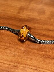 Authentic Trollbeads Amber Waters, Event, Exclusive Bead Htf Ship Free