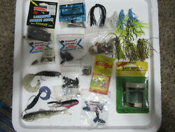 Vintage Mixed Lot Water Gremlin Worm Weight Kalinand039s Grub Bait And Much More