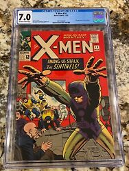 X-men 14 Cgc 7.0 Ow-wh Pgs 1st Appearance Of The Sentinels Hot Mcu Movie Hi End