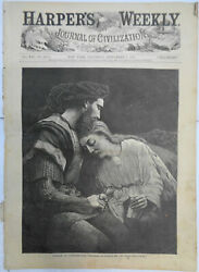 Harper's Weekly - Sept 1, 1877 - Lancelot And Guinevere, The Smallbreed Family