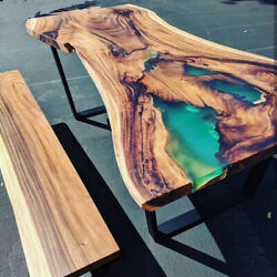 Epoxy Resin Table, Epoxy Resin Table Dining Table Luxury Furniture Made To Order