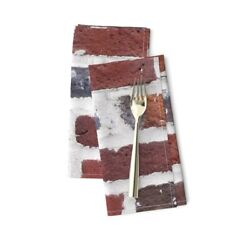 Bricks Brick Wall Textured Cotton Dinner Napkins By Roostery Set Of 2