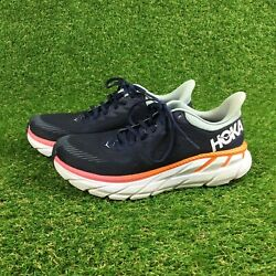 Hoka One One Clifton 7 Womenand039s Comfort Cushioned Athletic Sneakers Size 6.5
