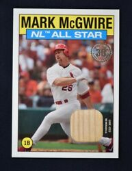 2021 Topps Series 2 1986 All-star Relics Mm Mark Mcgwire - St. Louis Cardinals