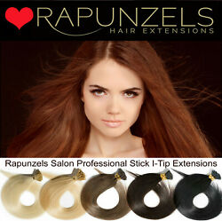 Rapunzels Uk 18 Remy Micro Ring Stick Tip Hair Extensions Microbead Application