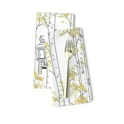 Tire Swing Window Box Childrens Cotton Dinner Napkins By Roostery Set Of 2