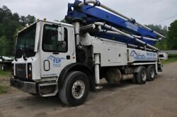 2004 Mack Cabover Mr688s With Concord 38 Meter Pump Concrete Pump Truck
