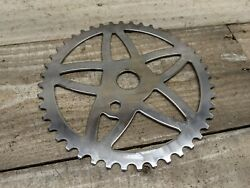 1970s Amf Star Sprocket 44 Tooth Muscle Bike Chrome Vintage