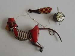 Vintage China Can Co. Ltd, Climbing Monkey Tin Toy, Chinese, China. Spares
