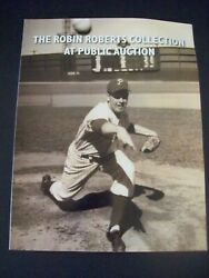 2011 Hunt Auctions Sports Memorabilia Robin Roberts Collection Auction Catalog