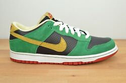 New Nike Sb Dunk Low Miller High Life Size 10.5 Marvin Martian 313170-008