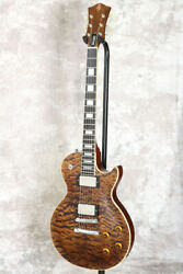Used Bucchus/02 Duke Dx Br Oil Electric Guitar From Japan