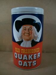 1977 Old Fashioned Quaker Oats Cookie Jar Canister Regal China 9 3/4 Tall