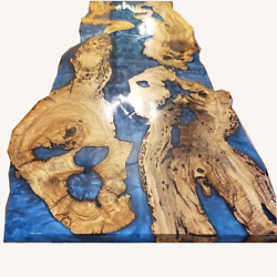 Epoxy Resin Big Epoxy Dining River Table Live Edge Home Decor Made To Order