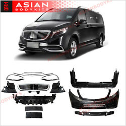 Body Kit For Mercedes Benz V Class W447 2014+ Front Bumper Rear Bumper Grille