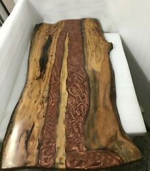 Epoxy Table Dining Sofa Center Table Top Handmade Edge Walnut Deco Made To Order