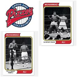 2021 Topps Muhammad Ali - The Peopleandrsquos Champ 2-card Bundle - Cards 43-44 Presal