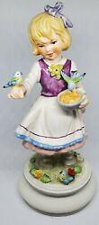 Goebel Limited Edition 1978 Hand Painted Girl Figurine Numbered And Signed 8x951