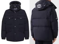 Moncler Vilbert Hooded Quilted Down Jacket Coat Jacket New 3xl