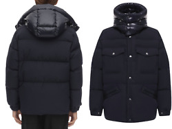 Moncler Vilbert Hooded Quilted Down Jacket Coat Jacket New Xl