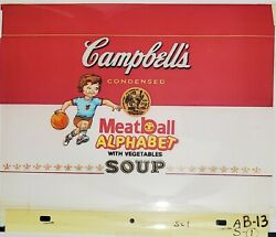 Campbell's Soup Kid - Campbell's Soup Commercial Production Cel