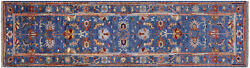 2and039 9 X 10and039 0 Handmade Traditional Wool Runner Rug - Q8381