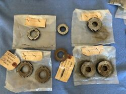 Lot Of 8 Nos Vintage South Bend Monarch Lathe Gears