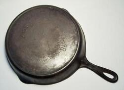 Puritan By Griswold Antique Cast Iron 10.25 Skillet W/spouts And Ring 8 D